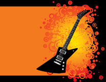 Guitar background Royalty Free Stock Image