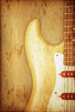 Guitar Background Royalty Free Stock Photos