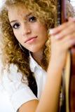Guitar Beauty Stock Photography