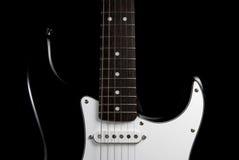 Guitar body. Fender body detail of a legendary giutar Royalty Free Stock Photos