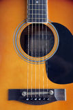 Guitar body Stock Images