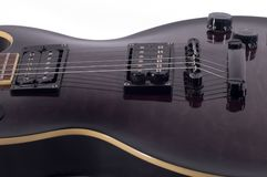 Guitar Body. Close up of electric guitar Stock Photo
