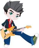Guitar boy Stock Image