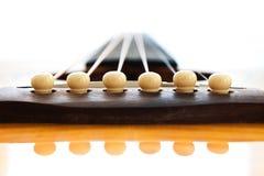 Guitar Bridge Royalty Free Stock Photography