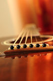 Guitar bridge Royalty Free Stock Images