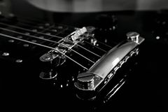 The guitar bridge Stock Photography