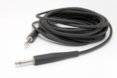 Guitar Cable Stock Image