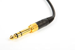 Guitar cable Stock Images