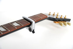 Guitar capo Royalty Free Stock Image