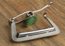 Guitar capo Royalty Free Stock Images