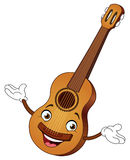 Guitar cartoon Royalty Free Stock Images
