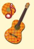Guitar CD Stock Photography