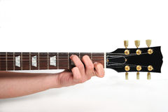 Guitar chord Royalty Free Stock Photos