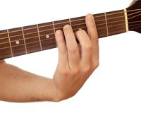 Guitar chord Stock Images