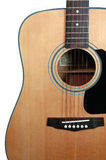 Guitar (with clipping path) stock photography