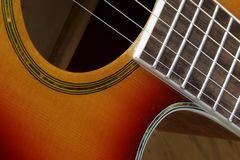 Guitar Close up Stock Photo