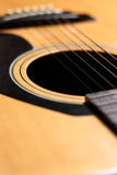 Guitar Close-up Royalty Free Stock Photography