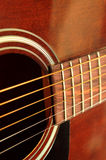 Guitar close up Royalty Free Stock Images