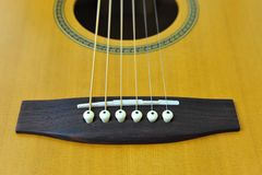 Guitar Close Up Royalty Free Stock Image