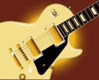 Guitar Close Up Stock Image