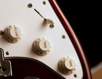 Guitar closeup Royalty Free Stock Image