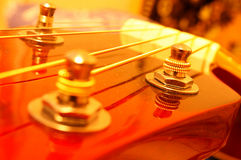 Guitar closeup stock photos