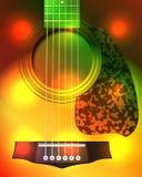 Guitar closeup Stock Image