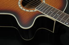 Guitar Closeup 4 Royalty Free Stock Photos