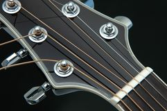 Guitar Closeup 5 Royalty Free Stock Images