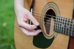 Guitar closeup Stock Photos