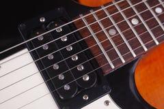 Guitar closeup Royalty Free Stock Photography
