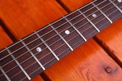 Guitar closeup Royalty Free Stock Photo