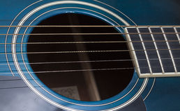 Guitar Closeup. Image of a Guitar Closeup Royalty Free Stock Photos