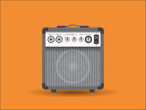 Guitar combo Stock Images