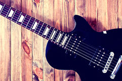Guitar conceptual image. Royalty Free Stock Images