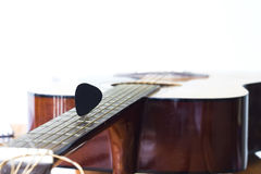 Guitar for create music Royalty Free Stock Photos