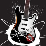 Guitar design Stock Photography
