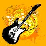 Guitar design Stock Photo