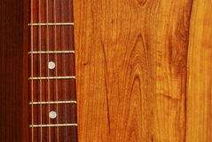 Guitar detail Stock Photography