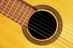 Guitar - detail Royalty Free Stock Images