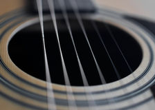 Guitar detail Stock Photos