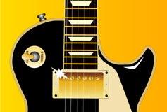 Guitar Detail Stock Image