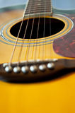 Guitar details Royalty Free Stock Images