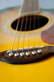Guitar details Stock Image
