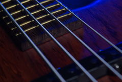 Guitar details Royalty Free Stock Photo