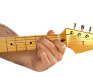 Guitar E Chord Stock Photo