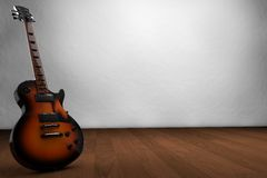 Guitar  electric guitar Stock Image