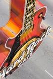 Guitar at entrance.Hard Rock Cafe Royalty Free Stock Photography