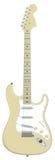 Guitar Fender Stratocaster - vector. Classic electric guitar Fender Stratocaster in vector Stock Photography