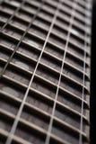 Guitar fingerboard close up Royalty Free Stock Photos
